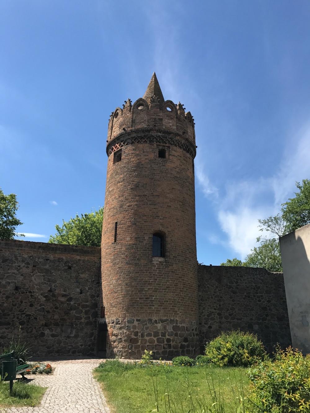 Die Stadtmauer von Gransee