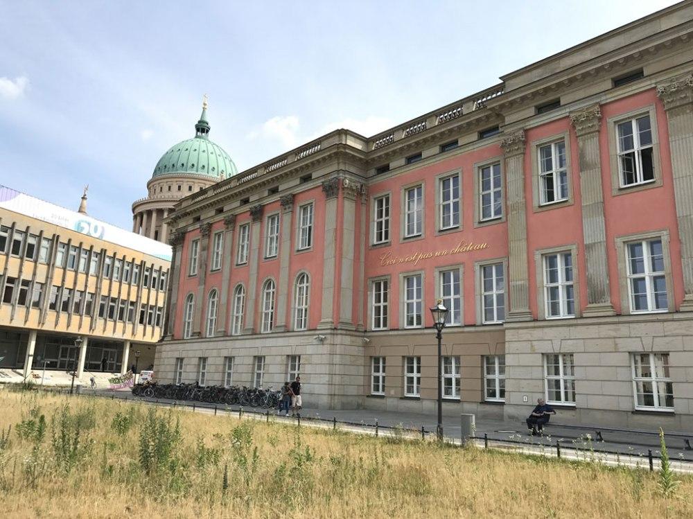 Das Landtagsgebäude von Potsdam