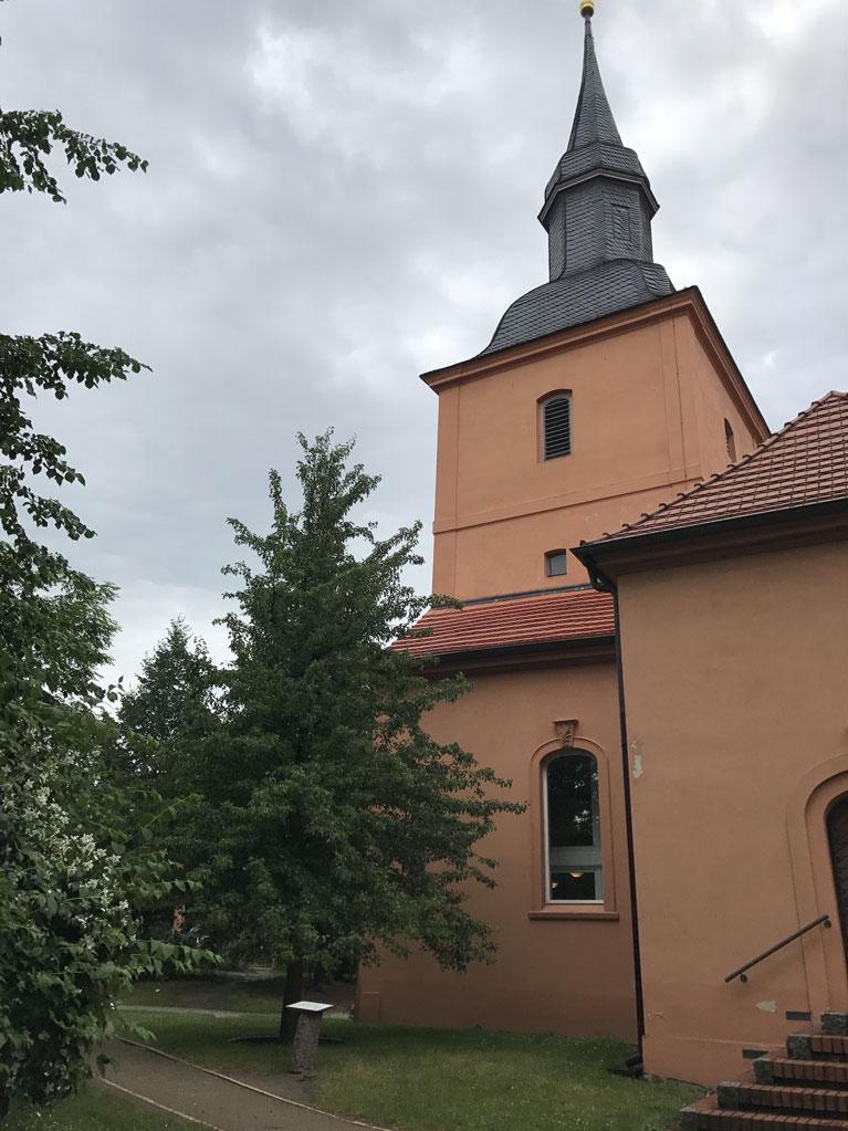 Die Kirche in Ribbeck